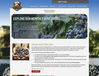 winecountryway.com screenshot