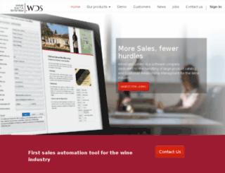 winedatasystem.com screenshot