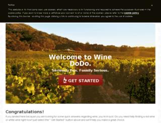 winedodo.com screenshot