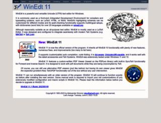 winedt.com screenshot