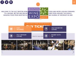 wineexpoboston.com screenshot