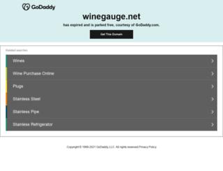 winegauge.net screenshot