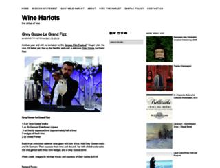 wineharlots.com screenshot