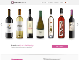 winelabeldesign.org screenshot