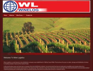 winelogistics.co.za screenshot
