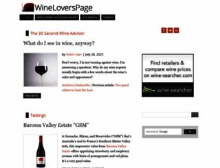 wineloverspage.com screenshot
