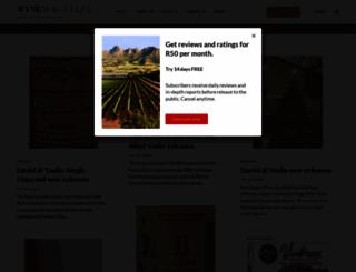 winemag.co.za screenshot