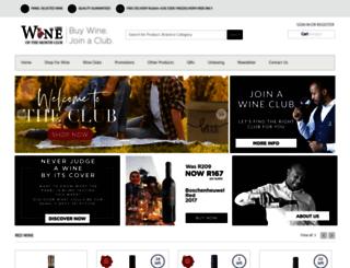 wineofthemonth.co.za screenshot