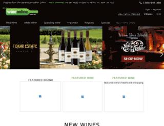 wineonline.com.au screenshot