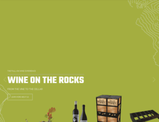wineontherocks.com screenshot