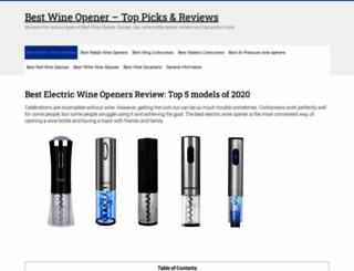 wineopenerbest.com screenshot