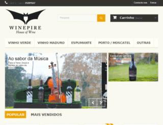 winepire.net screenshot