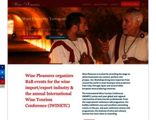 winepleasures.com screenshot