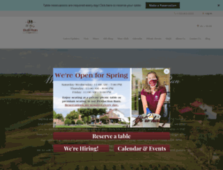 wineryatbullrun.com screenshot