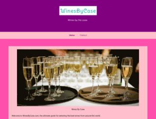 winesbycase.com screenshot