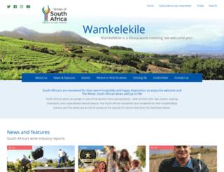 winesofsa.com screenshot