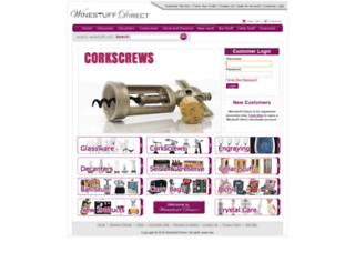 winestuffdirect.com screenshot
