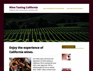 winetastingcalifornia.net screenshot