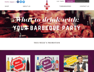 winetobe.com screenshot