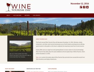 winetourismday.org screenshot