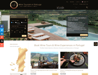 winetourismportugal.com screenshot
