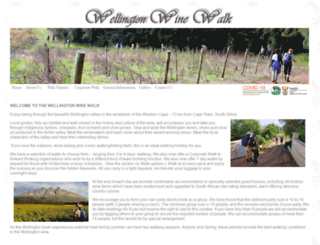 winewalk.co.za screenshot