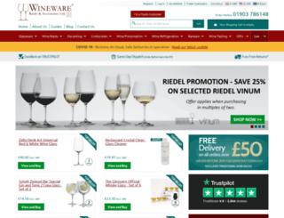 wineware.co.uk screenshot