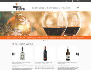 winewire.ca screenshot