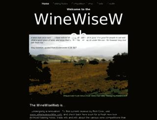 winewiseweb.com screenshot