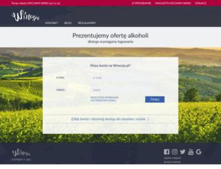 winezja.pl screenshot