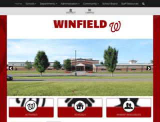 winfield.k12.mo.us screenshot
