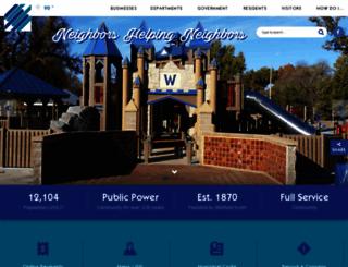 winfieldks.org screenshot