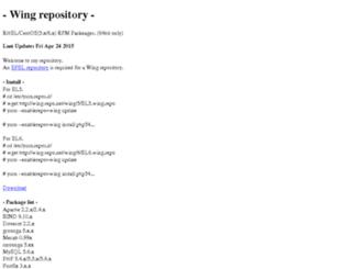 wing-repo.net screenshot
