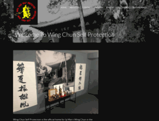 wingchunsp.co.uk screenshot