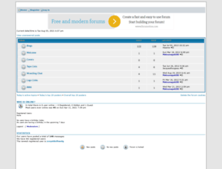 wingfans.forumotion.com screenshot