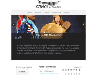 wings-of-freedom.org screenshot