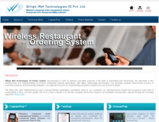 wingsinet.com screenshot