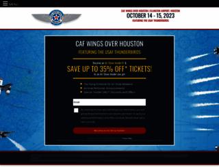 wingsoverhouston.com screenshot