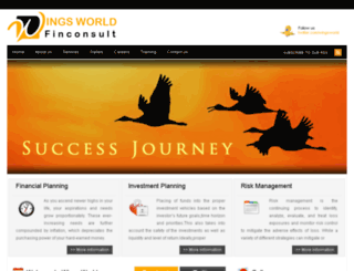 wingsworldfinconsult.com screenshot