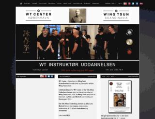 wingtsun.dk screenshot