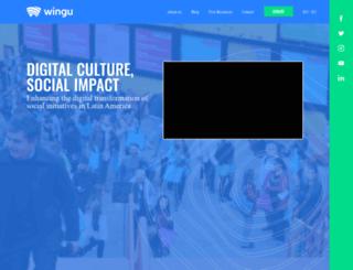 winguweb.org screenshot