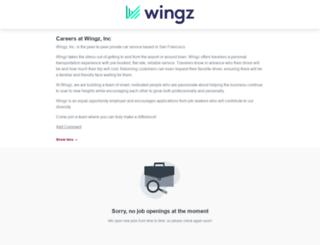 wingz.workable.com screenshot