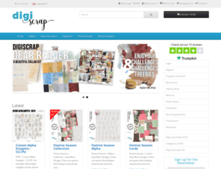 winkel.digiscrap.nl screenshot