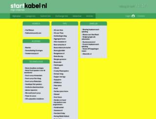 winkelen.startkabel.nl screenshot