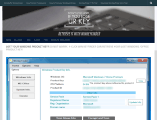 winkeyfinder.com screenshot