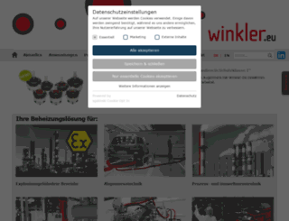winkler.eu screenshot