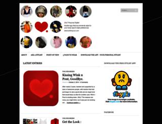 winknpout.wordpress.com screenshot