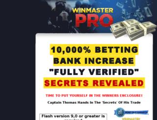 winmasterpro.com screenshot