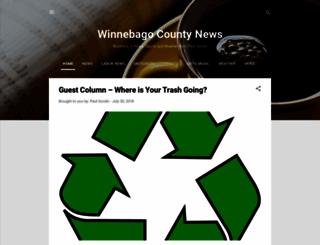 winnebagocountynews.org screenshot
