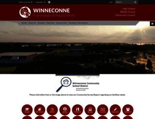 winneconne.k12.wi.us screenshot